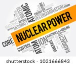 nuclear power word cloud... | Shutterstock .eps vector #1021666843