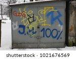 old door texture cracked wooden ... | Shutterstock . vector #1021676569