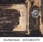 old weathered antique beat up...   Shutterstock . vector #1021681474