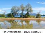 dreams island eretria greece... | Shutterstock . vector #1021688578