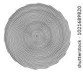 circular  radial abstract...   Shutterstock .eps vector #1021689820