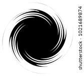 circular  radial abstract... | Shutterstock .eps vector #1021689874