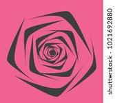 rose. vector flower. beautiful...   Shutterstock .eps vector #1021692880
