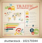 big vector set of traffic... | Shutterstock .eps vector #102170344