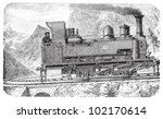 Steam Locomotive   Mountain...