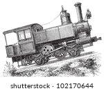 Steam Locomotive   Mountain...