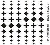 abstract black asymmetrical... | Shutterstock .eps vector #1021751278