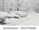Blocked Cars After Heavy Snow...