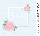 banner or greeting card... | Shutterstock .eps vector #1021763560