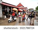 stone town  zanzibar   10 april ... | Shutterstock . vector #1021788724