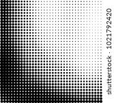 halftone black and white... | Shutterstock .eps vector #1021792420