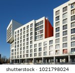 balashikha  russia   april 5 ... | Shutterstock . vector #1021798024