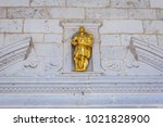 details of entrance to st... | Shutterstock . vector #1021828900