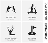 set of 4 editable exercise...