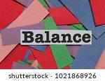 attributes on confetti... | Shutterstock . vector #1021868926
