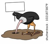 The Ostrich Burying Its Head I...