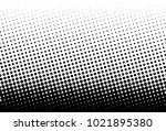 abstract futuristic halftone... | Shutterstock .eps vector #1021895380