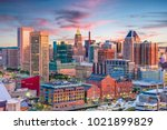 baltimore  maryland  usa... | Shutterstock . vector #1021899829