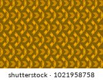 golden brown triangles in a... | Shutterstock .eps vector #1021958758