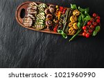 a large portion of colored... | Shutterstock . vector #1021960990