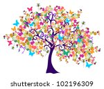 isolated abstract spring time... | Shutterstock .eps vector #102196309