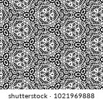 lace seamless pattern with... | Shutterstock .eps vector #1021969888