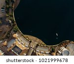 aerial shot of a beautiful... | Shutterstock . vector #1021999678