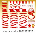collection of decorative design ... | Shutterstock .eps vector #1021999993