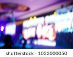 defocused entertainment concert ...   Shutterstock . vector #1022000050