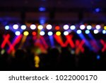 defocused entertainment concert ... | Shutterstock . vector #1022000170