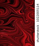 marbled red and black... | Shutterstock . vector #1022005114