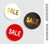 sale banners. vector... | Shutterstock .eps vector #1022010529