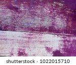 purple or violet burgundy... | Shutterstock . vector #1022015710