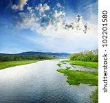 Lake Lipno Czech Republic