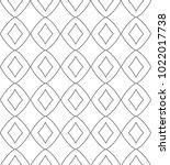 seamless ornamental vector...   Shutterstock .eps vector #1022017738