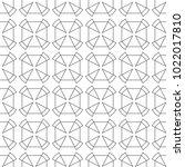 seamless ornamental vector... | Shutterstock .eps vector #1022017810