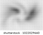 abstract halftone dotted grunge ... | Shutterstock .eps vector #1022029660