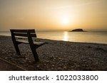 Beach Promenade Bench With...