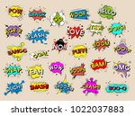 illustration of word icon | Shutterstock . vector #1022037883