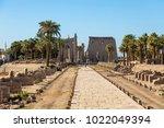 temple of luxor egypt   large...   Shutterstock . vector #1022049394
