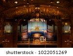 budapest  hungary   february 10 ...   Shutterstock . vector #1022051269