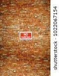 rustic city brick wall texture... | Shutterstock . vector #1022067154