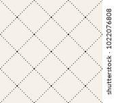 vector seamless pattern. modern ... | Shutterstock .eps vector #1022076808