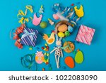 spring background with... | Shutterstock . vector #1022083090