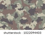 camouflage seamless pattern.... | Shutterstock .eps vector #1022094403