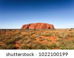 uluru  formerly ayer's rock  is ... | Shutterstock . vector #1022100199