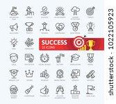 sussess  awards  achievment... | Shutterstock .eps vector #1022105923