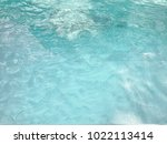 blue background of water pool ... | Shutterstock . vector #1022113414