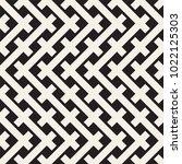 weave seamless pattern. stylish ... | Shutterstock .eps vector #1022125303