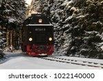 schierke  germany   february 4  ... | Shutterstock . vector #1022140000
